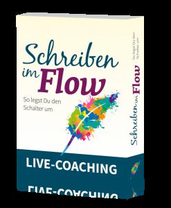Live-Coaching - Schreiben im Flow - So legst Du den Schalter um.
