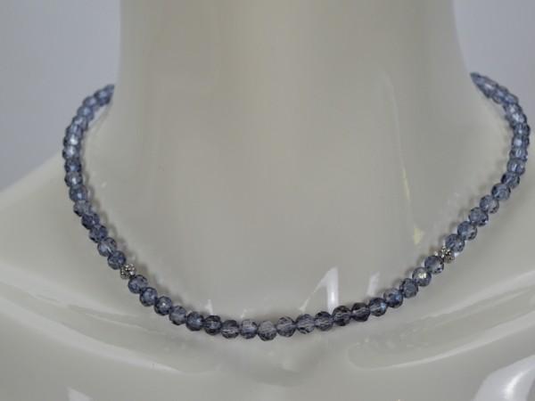 ichmichmirmeins Damen Halskette EDC blau Frontansicht