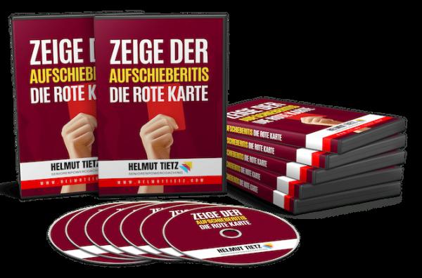 Zeige der Aufschieberitis die rote Karte von Helmut Tietz