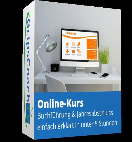 GripsCoach TV - Online-Kurs Buchführung und Jahresabschluss einfach erklärt in unter 5 Stunden