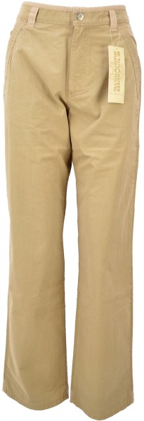 ichmichmirmeins Damen Jeans Paddock´s Bootcut in Beige - Frontansicht