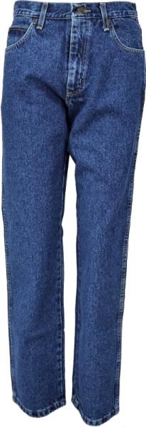 ichmichmirmeins Wrangler Herren Jeans Durable Basics Heavy Duty dark stone wash Frontansicht