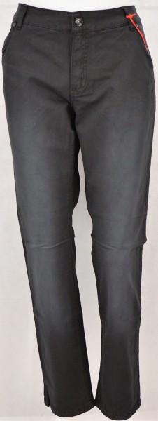 ichmichmirmeins Stehmann Therese 764 Damen Jeans - Schwarz Frontansicht