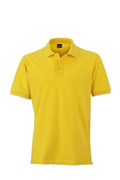ichmichmirmeins - James & Nicholson JN986 Poloshirt - Frontansicht