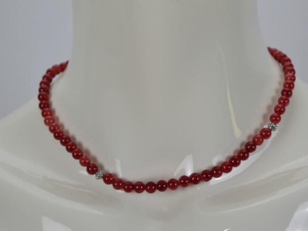 ichmichmirmeins Damen Halskette EDC Rot