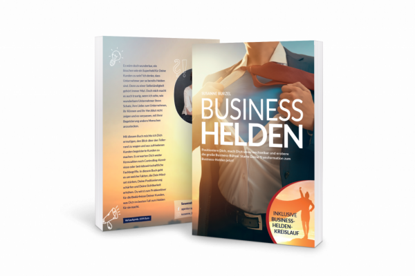 """Gratis Buch """"Business Helden"""" von Susanne Burzel"""