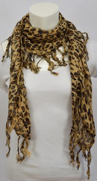 ichmichmirmeins-Sommer-Schal-Tiger-Muster
