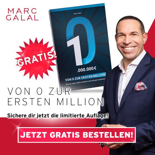 Gratis Buch von Marc Galal - Von 0 zur ersten Million