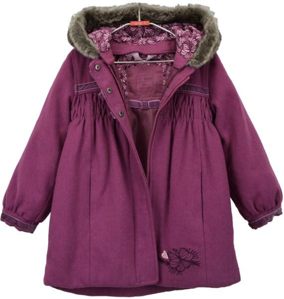 ichmichmirmeins Marie Mini Wool Jacket für Mädchen - Vorderansicht offen