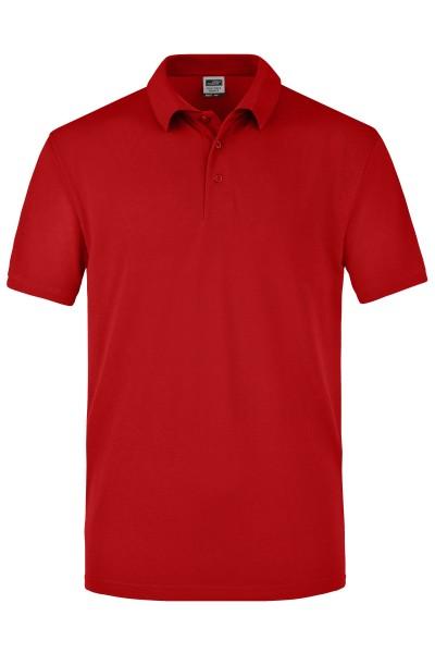 ichmichmirmeins - James & Nicholson JN025 Poloshirt - Frontansicht