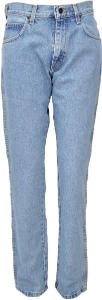 ichmichmirmeins Wrangler Herren Regular Jeans light stone Frontansicht