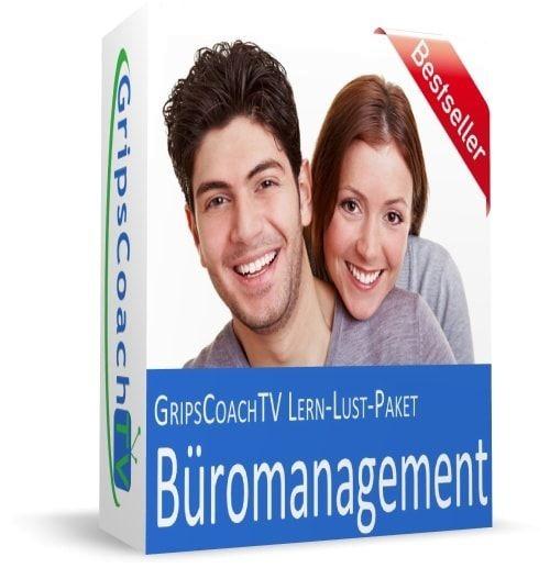 GripsCoach TV - Online-Kurs Lern-Lust-Paket Büromanagement